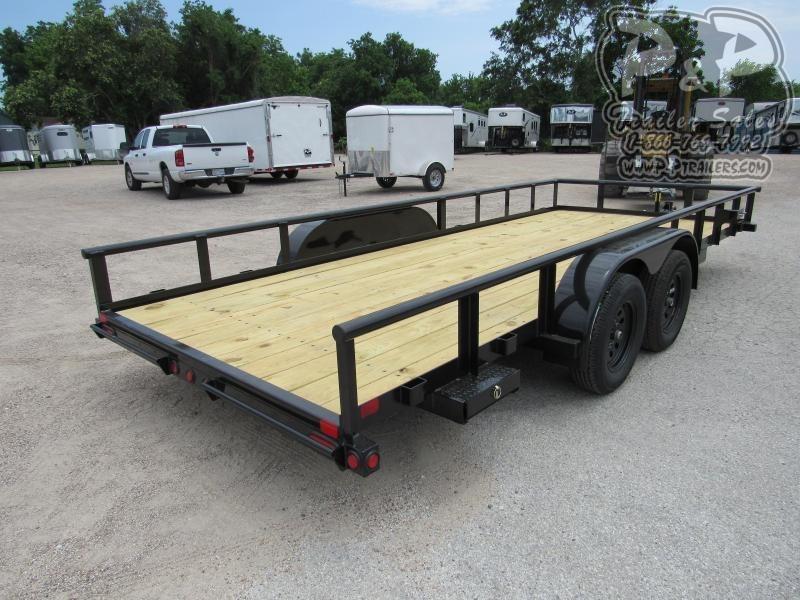 2021 Big Tex Trailers 70PI-18XBK Utility Trailer