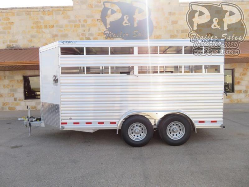 2021 CM CMS0440-16 16 ' Livestock Trailer