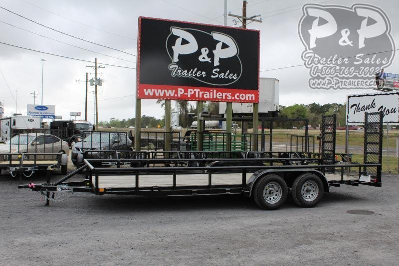 """2021 P and P PPTA20X83GDFURPT 83"""" x 20 ' Utility Trailer"""