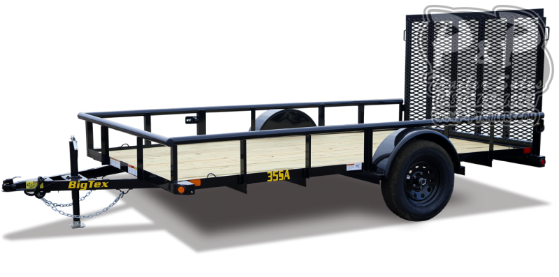 2021 Big Tex Trailers 35SA 12XBK4RG 12 Utility Trailer