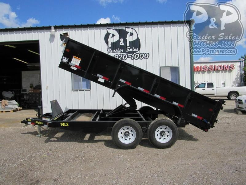 2020 Big Tex Trailers 14LX-14BK7SIR 14 ft Dump Trailer