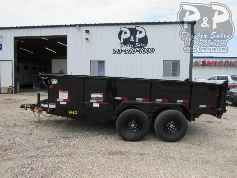 2021 Big Tex Trailers 14LX-14BK7SIR Dump Trailer
