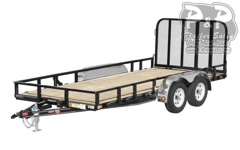 2021 PJ Trailers UL21632CS2KT 16 ' Flatbed Trailer