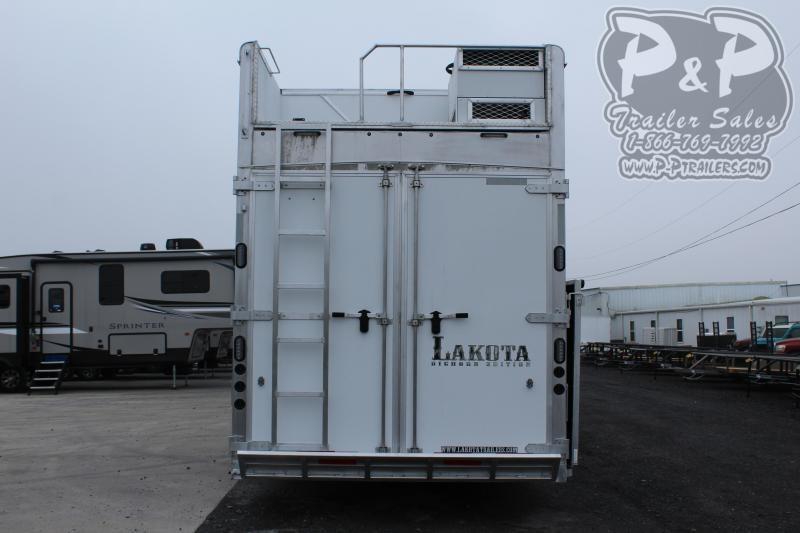 2021 Lakota Bighorn BH8616SRT 6 Horse Slant Load Trailer 16 FT LQ With Slides w/ Ramps