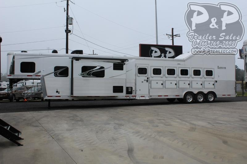 2021 Lakota Bighorn BH8616SRT 6 Horse Slant Load Trailer 16 FT LQ With Slides w/ Ramps