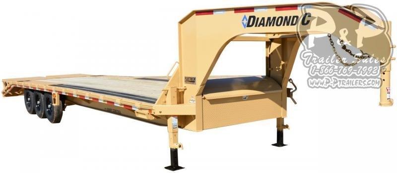 2021 Diamond C Trailers FMAX307 Gooseneck Flatbed Trailer