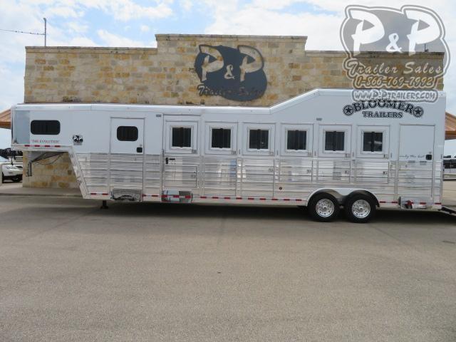 2021 Bloomer Supertack 6 Horse Slant Load Trailer w/ Ramps