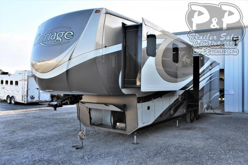 2015 CrossRoads RV Carriage 40RL 39 ' Fifth Wheel Campers RV