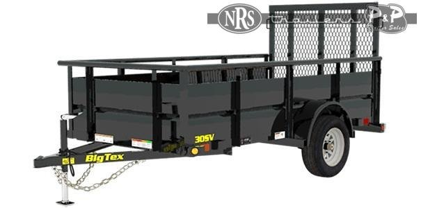 2021 Big Tex Trailers 30SV-10 Utility Trailer