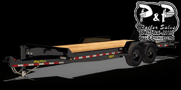 2020 Big Tex Trailers 16ET-17+3 20 ' Flatbed Trailer