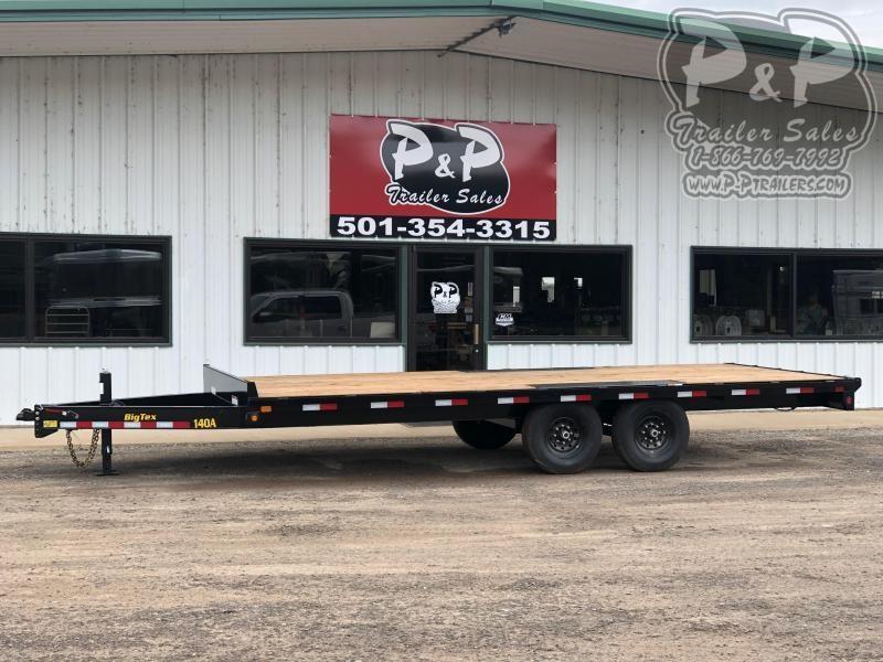 2021 Big Tex Trailers 14OA-20BK-8SIR Equipment Trailer