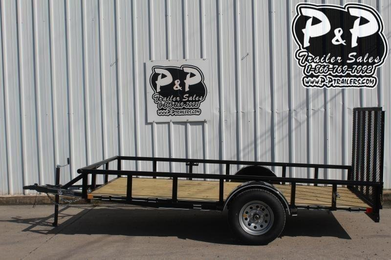 "2021 P and P PPSA12X72LDRGPT 72"" x 12 ' Utility Trailer"