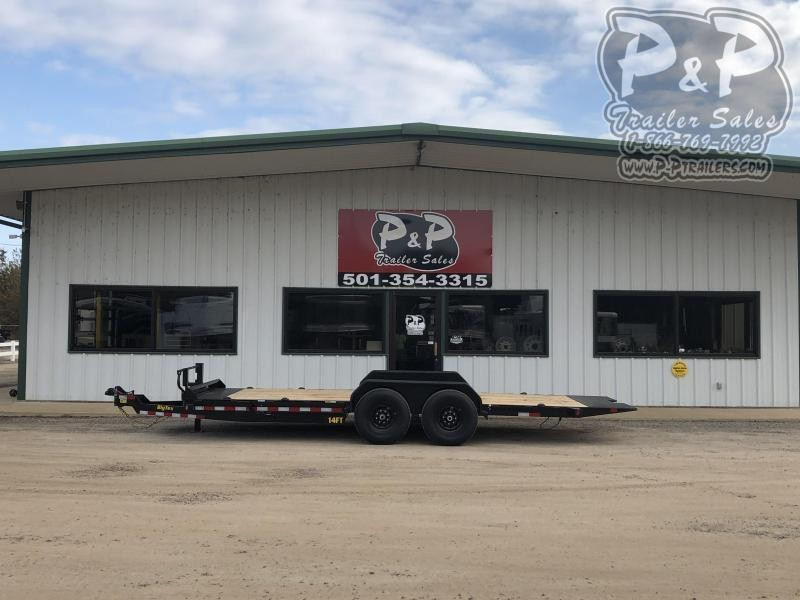 2021 Big Tex Trailers 14FT-20BK Equipment Trailer