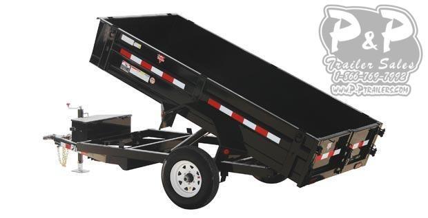 2021 PJ Trailers 60 in. Utility Dump (D5) Dump Trailer