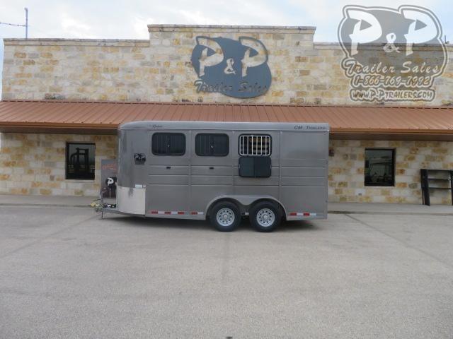 2021 CM Dakota CMH0543-1770 3 Horse Slant Load Trailer