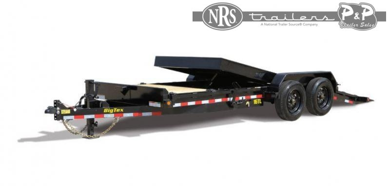 2021 Big Tex Trailers 16TL-20BK 20 ' Equipment Trailer