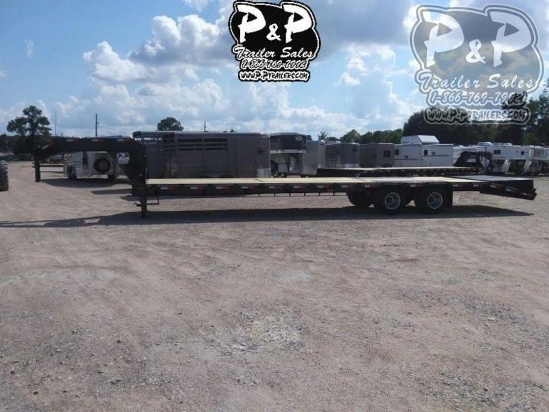 """2021 P and P PPDT30+5X102HDMRLP 420 """" Flatbed Trailer"""