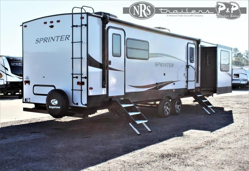 2021 Keystone RV Sprinter Limited 330KBS 34 ' Travel Trailer RV