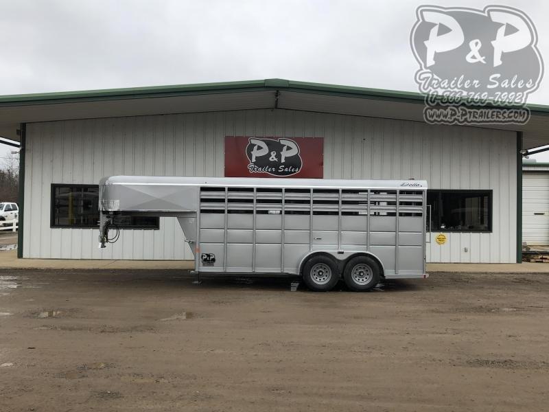 2021 Delta Manufacturing 500GN16 16 ' Livestock Trailer