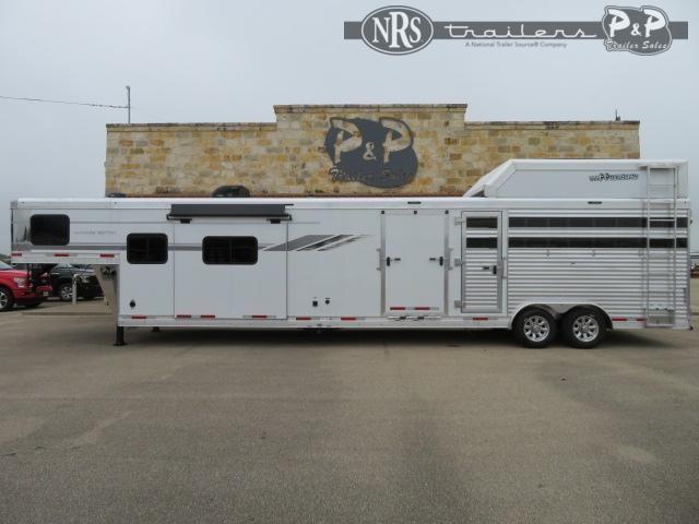 2022 SMC Horse Trailers SLE81413SSR 36 ' Livestock Trailer LQ