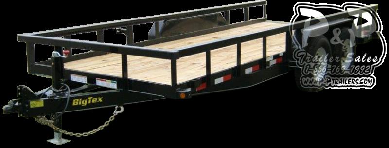 2021 Big Tex Trailers 14PI-16BK 16 ' Equipment Trailer