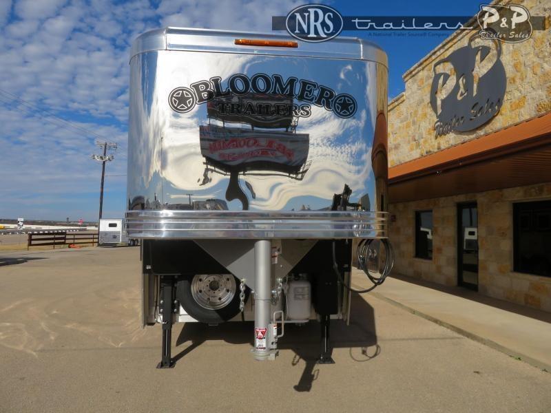2021 Bloomer 8417PCOLFK 4 Horse Slant Load Trailer 17 FT LQ w/ Slideouts