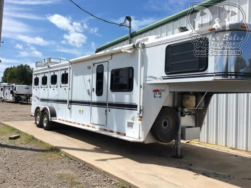 2000 Sundowner Trailers 6908TB 4 Horse Slant Load Trailer 8 FT LQ