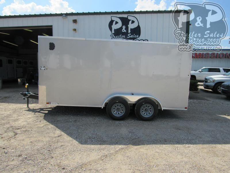 2021 Carry-On 7 x 16 CGRBN Enclosed Cargo Trailer