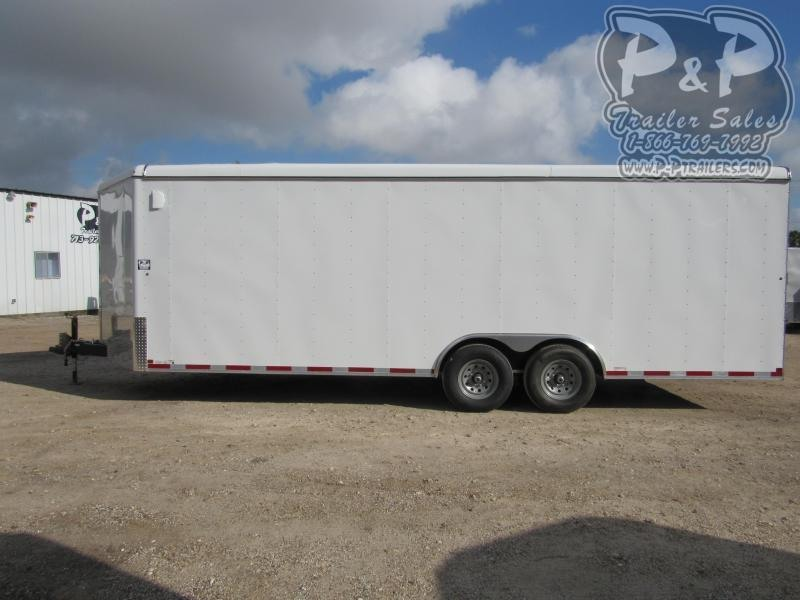 2021 Carry-On 8.5 X 24 CGRV-14K 24 ' Enclosed Cargo Trailer