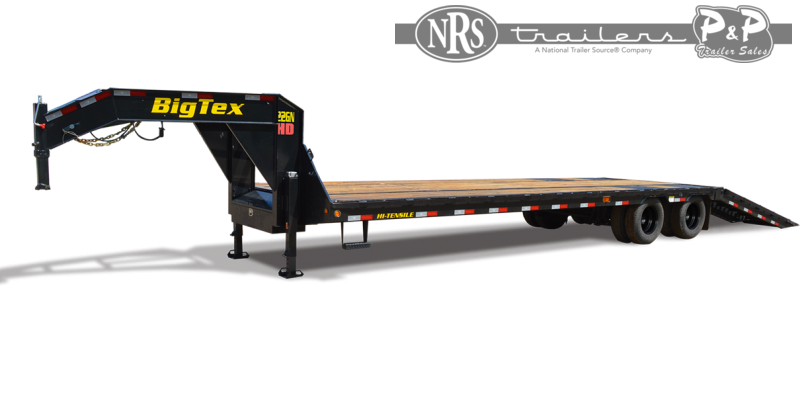 2021 Big Tex Trailers 22GN-40-HDTS 40 ' Flatbed Trailer