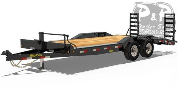 2021 Big Tex Trailers 14DF-18 Equipment Trailer