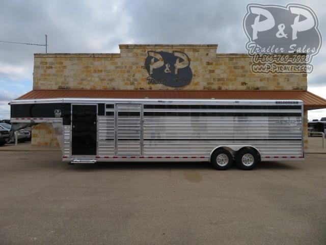 2021 Bloomer 828STKPEN 28 ' Livestock Trailer w/ Pen System