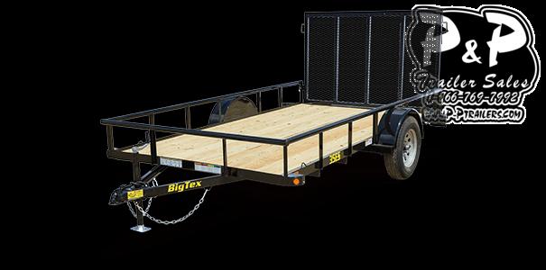 2021 Big Tex Trailers 35ES-12BK4RG 12 ' Utility Trailer