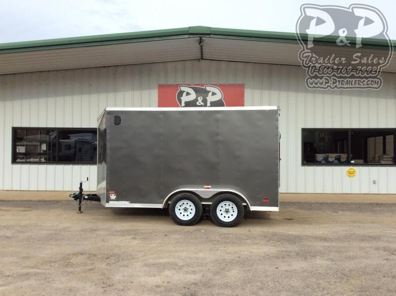2020 RC Trailers 7x12 TA2FTW 12 ' Enclosed Cargo Trailer