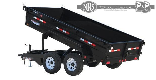 2021 PJ Trailers 72 in. Tandem Axle Dump (D3) 10 ' Dump Trailer