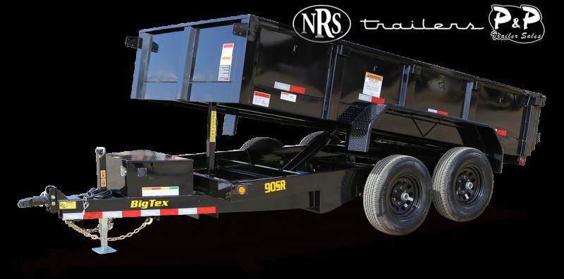 2022 Big Tex Trailers 90SR-12BK7SIR 12 ' Dump Trailer