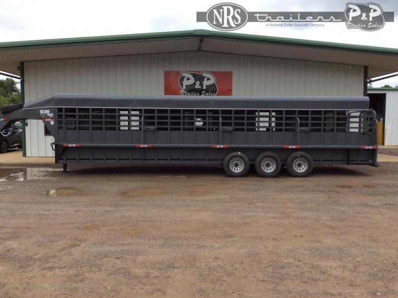 2021 Big Bend 3268FTSP 32 ' Livestock Trailer