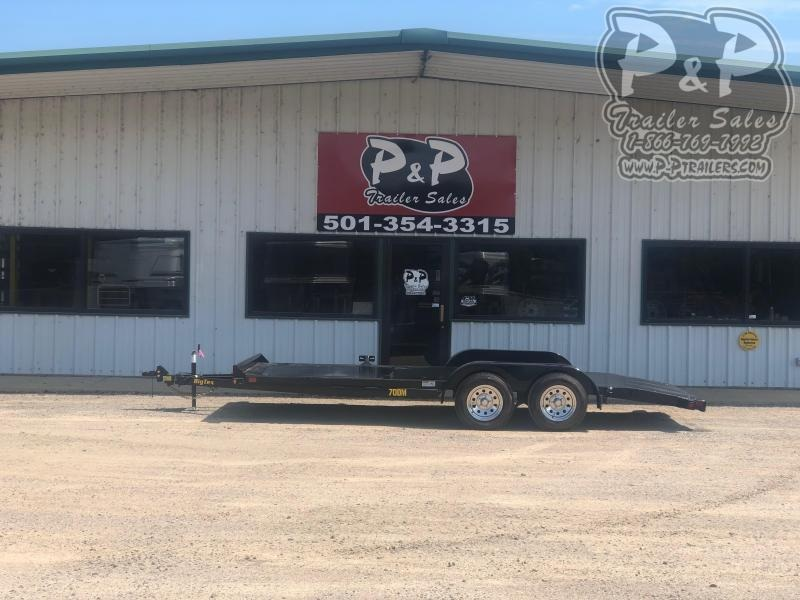 2021 Big Tex Trailers 70DM 18 Car / Racing Trailer