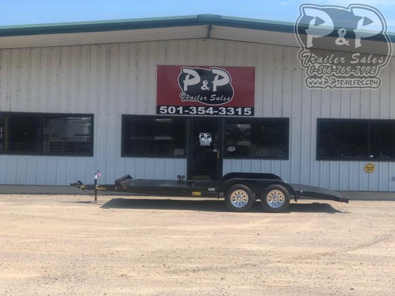 2021 Big Tex Trailers 70DM 18 Car / Racing Trailer