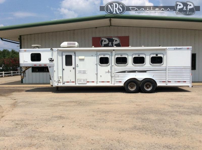 2004 Cherokee 7408 4 Horse Slant Load Trailer 0 FT LQ