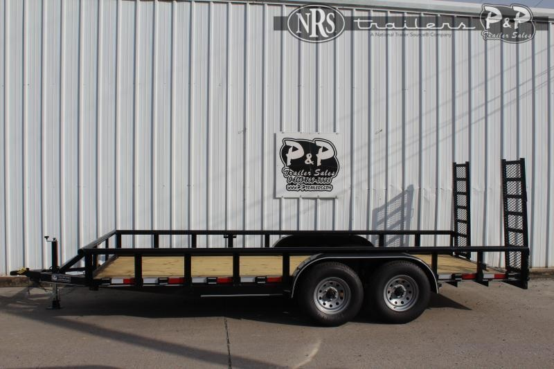 "2021 P and P PPTA18X83MDFURPT 83"" x 18 ' Utility Trailer"