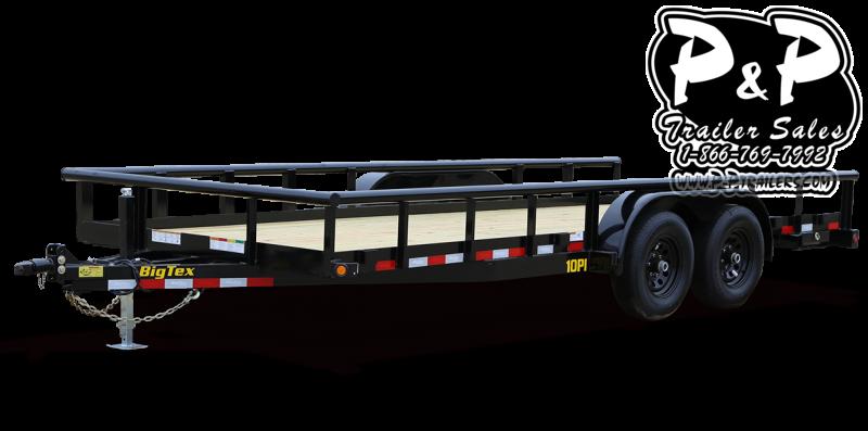 2021 Big Tex Trailers 10PI 20BK 20 Utility Trailer