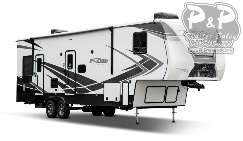 "2021 Keystone RV Impact 351 38' 1"" Toy Hauler RV"