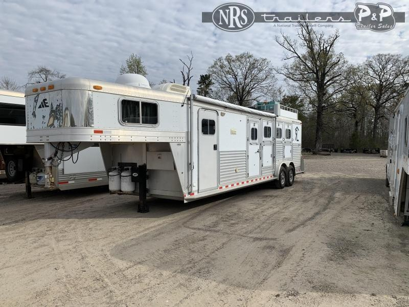 2001 Elite Trailers 8310 3 Horse Slant Load Trailer 10 FT LQ