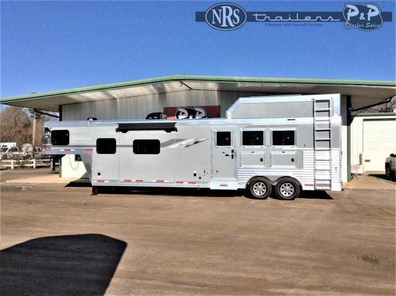 2022 SMC Horse Trailers SL8314SSR 3 Horse Slant Load Trailer 14 FT LQ With Slides