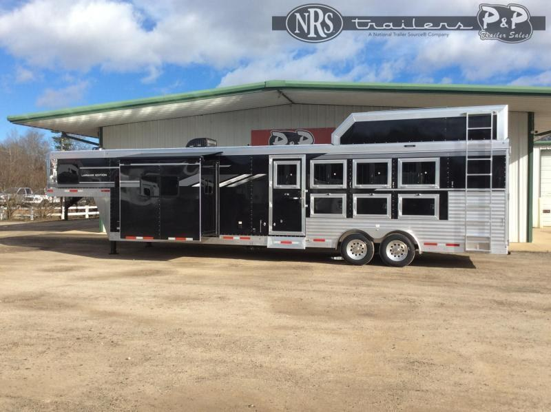 2022 SMC Horse Trailers SL8414SSR 4 Horse Slant Load Trailer 0 FT LQ