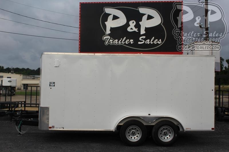 2020 Carry-On 7X16CGRBN7K Enclosed Cargo Trailer
