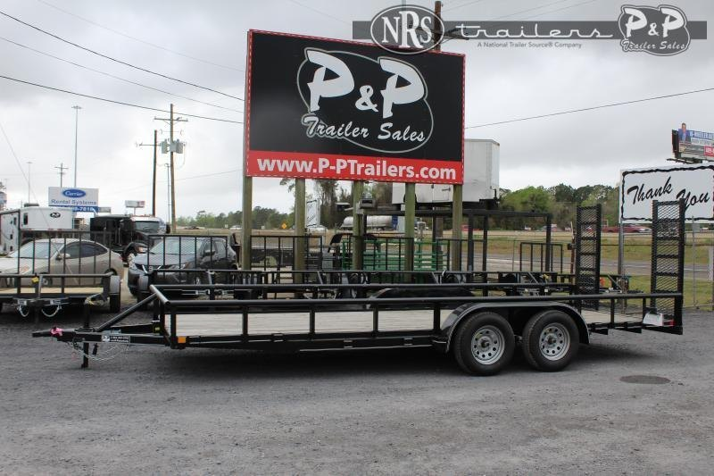 "2021 P and P PPTA20X83GDFURPT 83"" x 20 ' Utility Trailer"