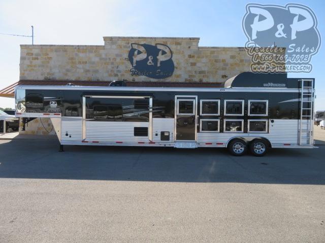 2021 Lakota Charger C8415SRRSL 4 Horse Slant Load Trailer 15 FT LQ With Slides w/ Ramps