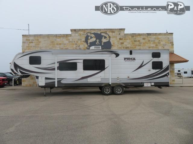 2012 Forest River Palomino Puma 351THSS 37 ' Toy Hauler RV